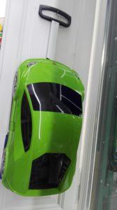 Speriamo che dorma - novità -rolley auto verde