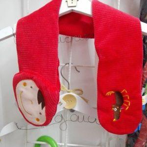 sciarpina Cappuccetto Rosso-Speriamo che dorma